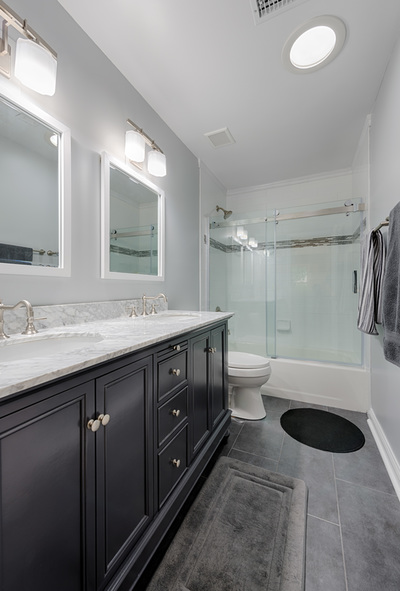TWO Bathrooms Renovated In ONE Week Sawdust Therapy